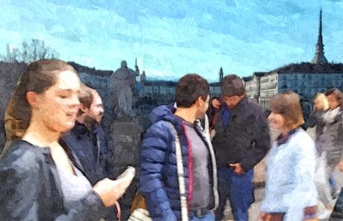 Studenti università Torino